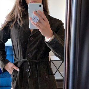 BB Dakota 100% leather jacket in brown